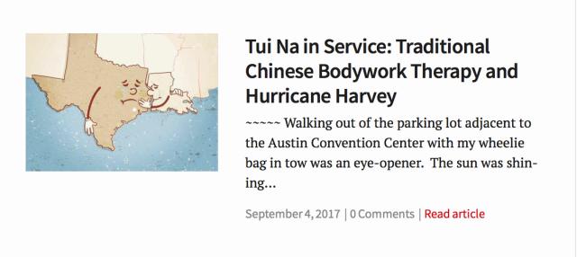 Tui Na in service